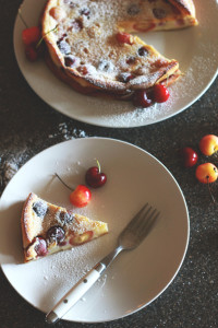 Cherry Clafoutis | Perpetually Chic