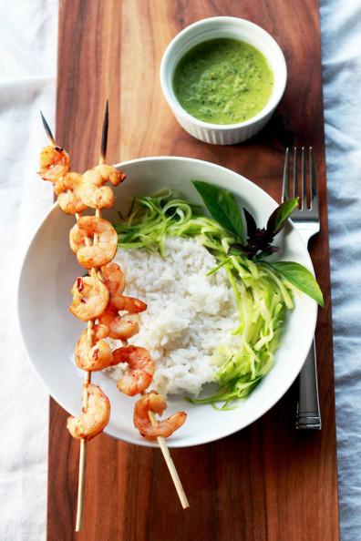 pesto-shrimp-bowl