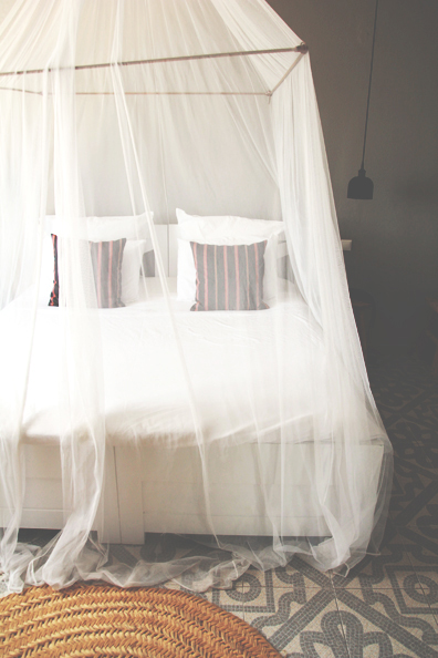 Netted Bed | Perpetually Chic