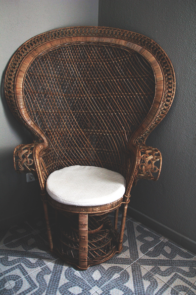 Peacock Chair | Perpetually Chic