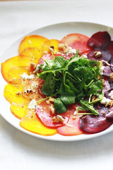 beet carpaccio | perpetually chic