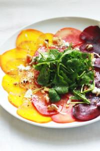 beet carpaccio   perpetually chic