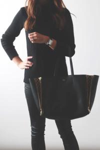 black on black | perpetually chic