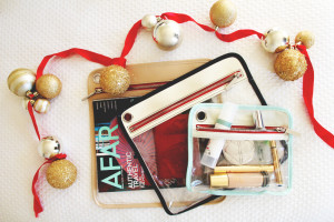 perpetually chic gifts: truffle travel pouches
