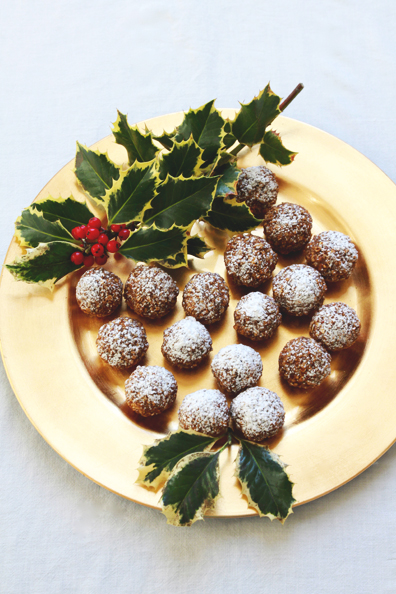 Gingerbread Bourbon Balls | Perpetually Chic