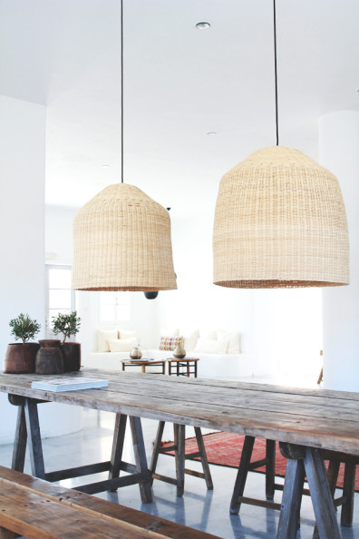 Rattan Pendant Lights | Perpetually Chic