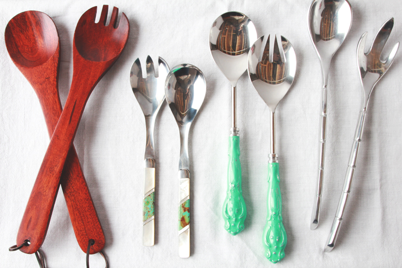 Entertaining Essentials: Salad Servers | Perpetually Chic