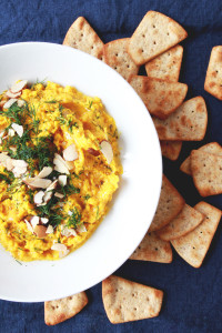 golden beet dip // perpetually chic