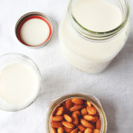 Homemade Almond Milk | Perpetually Chic