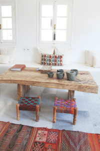 Woven Stools | Perpetually Chic