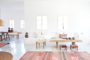 White Space with Bohemian Accents | Perpetually Chic