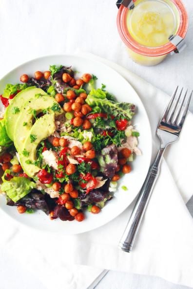 Spanish Chopped Salad | Perpetually Chic