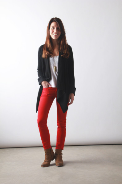 pop of red // perpetually chic