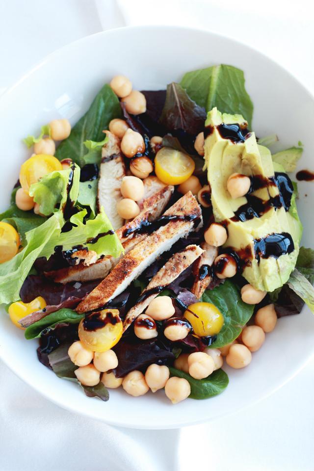 Chickpea & Avocado Salad | Perpetually Chic
