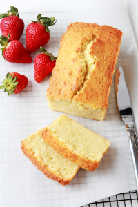 Pound Cake with Strawberries & Mascarpone Cream | Perpetually Chic
