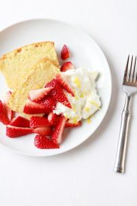 Pound Cake with Strawberries & Mascarpone Cream   Perpetually Chic