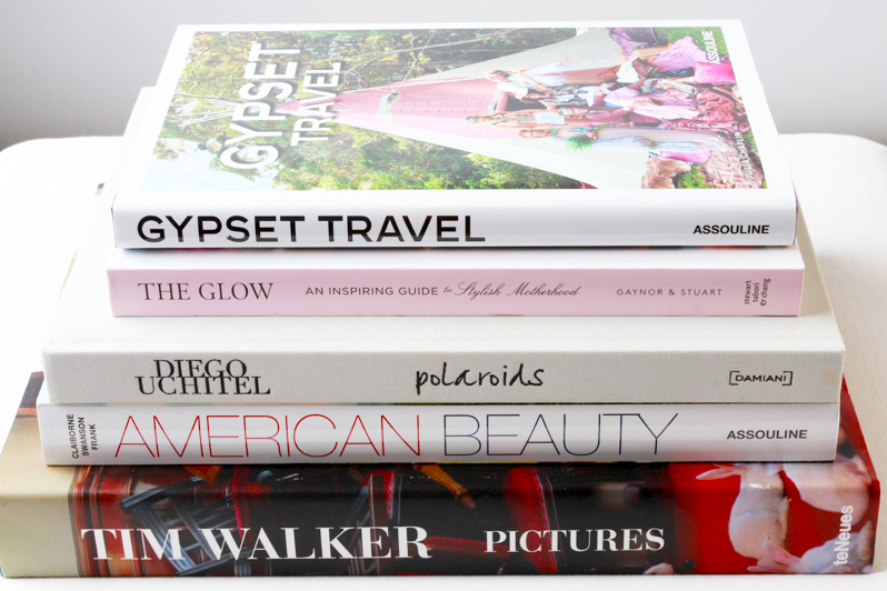 5 favorite coffee table books | perpetually chic