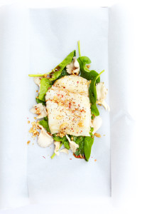Ginger-Soy Fish in Parchment | Perpetually Chic
