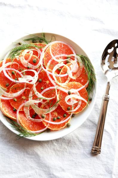 Orange Fennel Salad | Perpetually Chic