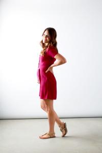 Magenta Dress | Perpetually Chic
