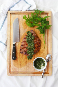 Flank Steak with Chimichurri   Perpetually Chic