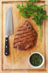 Flank Steak with Chimichurri | Perpetually Chic