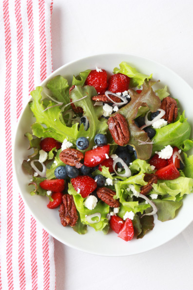 Strawberry Blueberry Salad | Perpetually Chic