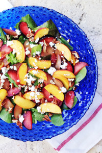 Summer Stone Fruit Salad | Perpetually Chic