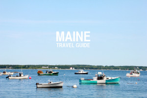 Maine Travel Guide | Perpetually Chic