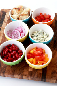 Panzanella Salad with Lemon-Garlic Vinaigrette   Perpetually Chic