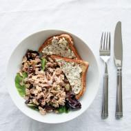Mediterranean Tuna & Feta-Herb Toast | Perpetually Chic
