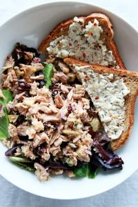 Mediterranean Tuna & Feta-Herb Toast   Perpetually Chic
