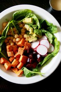Veggie Chopped Salad | Perpetually Chic