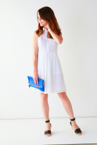 Summer White Dress + Espadrilles | Perpetually Chic