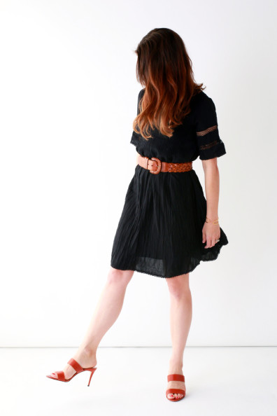 Summer LBD - Aritzia Sonore Dress | Perpetually Chic