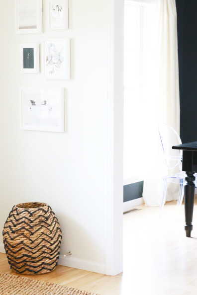 Entryway Makeover with Minted   Perpetually Chic
