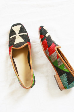 Kilim Slippers | Perpetually Chic