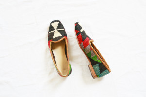 Kilim Slippers   Perpetually Chic