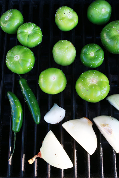 Tomatillo Salsa | Perpetually Chic