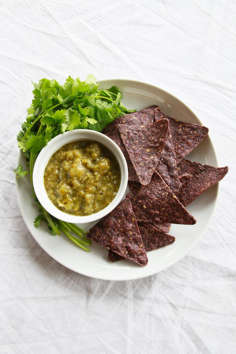 Tomatillo Salsa (Basic Salsa Verde) | Perpetually Chic