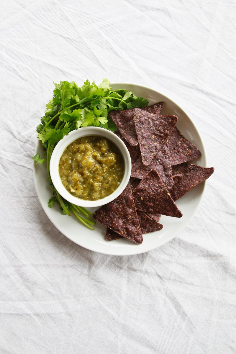 Basic Salsa Verde (Mexican Tomatillo Salsa) Recipe — Dishmaps