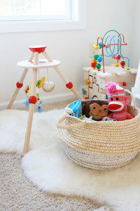 Toy Storage Solution | Perpetually Chic