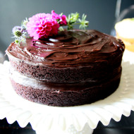 Allergy-Free Chocolate Cake  (no gluten, dairy, egg) | Perpetually Chic