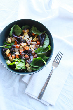 Roasted Root Vegetable Salad | Perpetually Chic