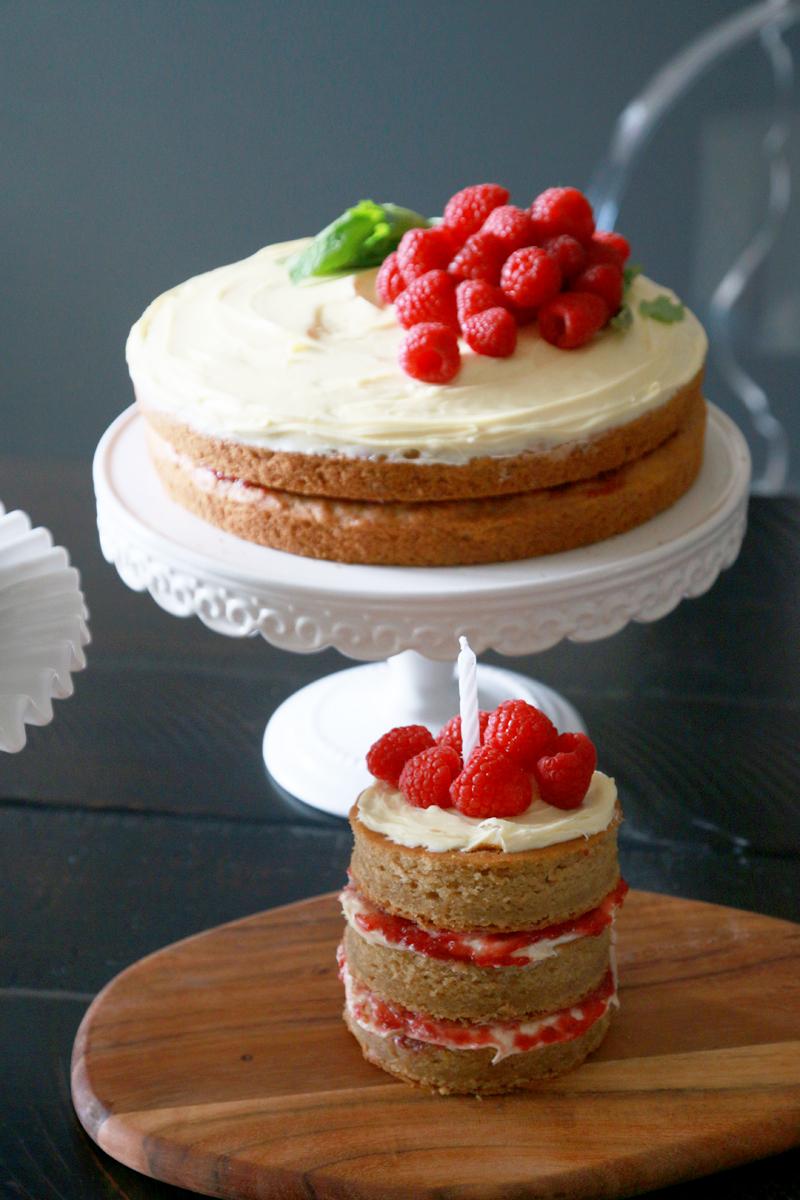 Vegan First Birthday Cake 0505