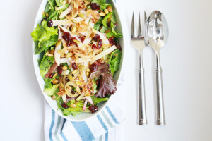 Pear, Caramelized Onion & Pepita Salad | Perpetually Chic